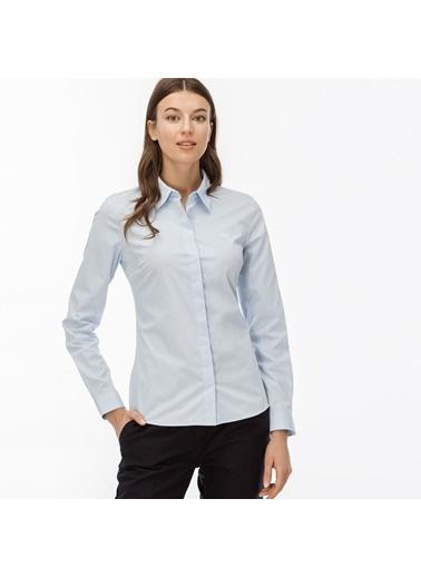 Lacoste Kadın  Gömlek CF7907.T01 Mavi